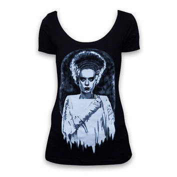 Monsters Bride Womens Scoop Neck Tee