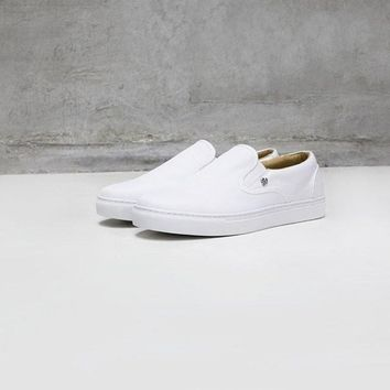 Sully Wong Slip-on 600D - White