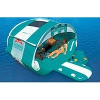 Amazon.com: SPORTSSTUFF CABANA ISLANDER Inflatable Lounge: Sports & Outdoors