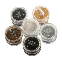 6 Colors Glitter Powder Eye Shadow Kit Makeup Cosmetic Spangle Eyeshadow Set