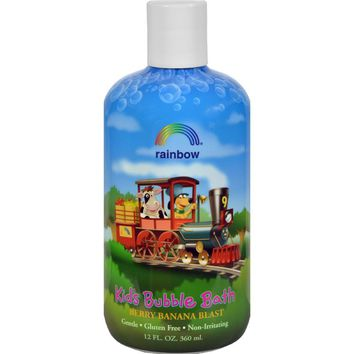 Kids Organic Herbal Bubble Bath Berry Banana Blast ( 3 - 12 FZ)
