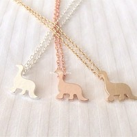 Cute Dinosaur Necklace