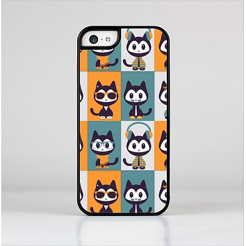 The Retro Cats with Accessories Skin-Sert Case for the Apple iPhone 5c