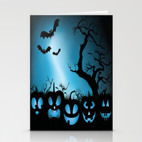 BAT HALLOWEEN Stationery Cards by Acus