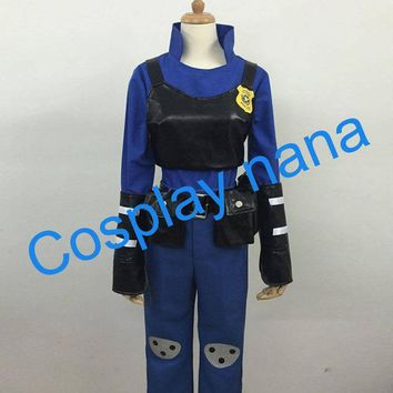 MDIGHY9 2016 HOT movie zootopia cosplay uniforms Rabbit Judi cos police uniforms halloween costumes for women anime clothing
