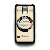 Pierce The Veil Song Lyrics Band Samsung Galaxy S3 S4 S5 Note 2 3 4 HTC One M7 M8 Case
