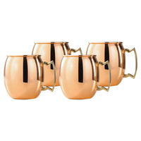 The Copper Moscow Mule Mugs