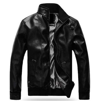 Leather Jacket Plus Size