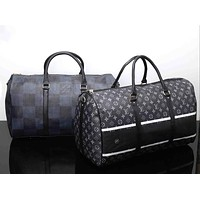 LV Women Leather Luggage Travel Bags Tote Handbag I-MYJSY-BB