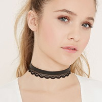 Lace Choker Set