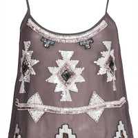 **Cleopatra Embellished Top by TFNC