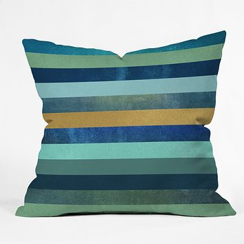 Elisabeth Fredriksson Ocean Deep Throw Pillow
