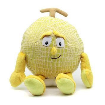 Fruits  vegetables plush toys  fruits  doll  vegetables Lemon pumpkin garlic cartoon doll  grabbing machine doll