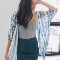 SHOOT THE BREEZE KIMONO