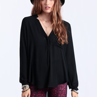 Blackout Chiffon Blouse