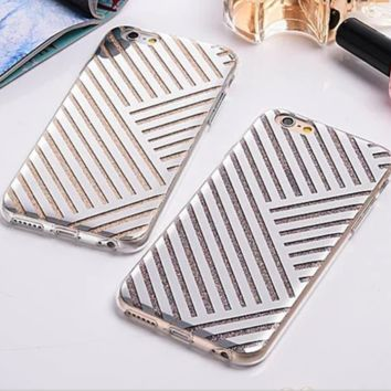The New Creative Double Bling Bling Protective Case For Iphone 6 6s plus
