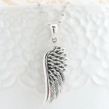 Splendid Angel Wing Necklace
