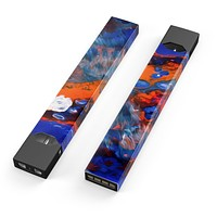 Skin Decal Kit for the Pax JUUL - Blurred Abstract Flow V43