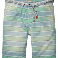 Bright yarn-dyed stripe chino shorts - Scotch & Soda