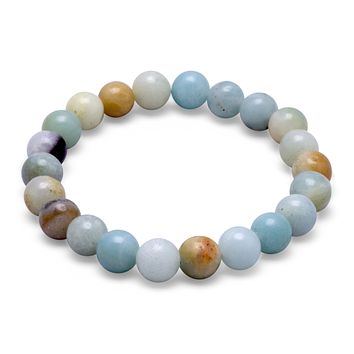 Amazonite 8mm Bead Stretch Bracelet