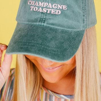 Friday + Saturday Champagne Toasted Hat