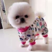Fashion Pajamas Apparel For Chihuahua and Small Dog