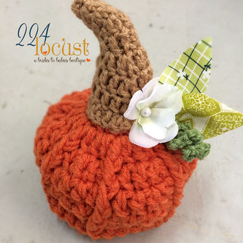 Pumpkin Baby Hat, Hat, Photography Prop, Photo Prop, Pumpkin, Halloween, Halloween Costume, Crochet Pumpkin, Newborn, Baby, Hat, Beanie