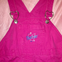 Official 90s BARBIE overalls