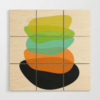 Modern minimal forms 35 Wood Wall Art by naturalcolors