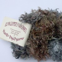 Ellen Cooper's Sonnet Silky Chinchilla Yarn Hand Painted Fun Fur