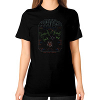 Use the Force Unisex T-Shirt (on woman)
