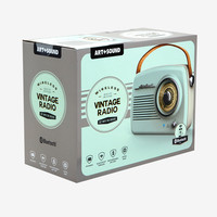 Mint Vintage Wireless Radio Speaker