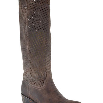 Corral Women's Cut Out Upper Boots - Round Toe