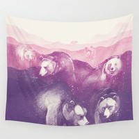 Wild Mountains Wall Tapestry by Daniel Teixeira