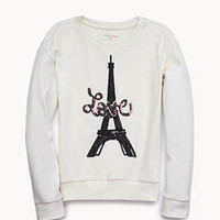 Sweet Sequined Love Sweatshirt (Kids)
