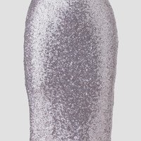 Glimmer Of Light Sequin Pencil Skirt