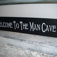 MAN CAVE Sign guy gift mens gift Great gift for by AndTheSignSays