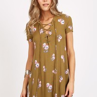 Last Kiss Floral Dress | Threadsence