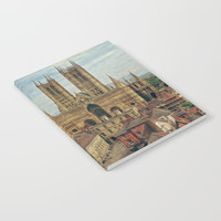 Lincoln Cathedral Notebook by Linsey Williams Art
