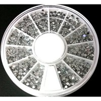 Rhinestones Wheel • Silver 1.5mm
