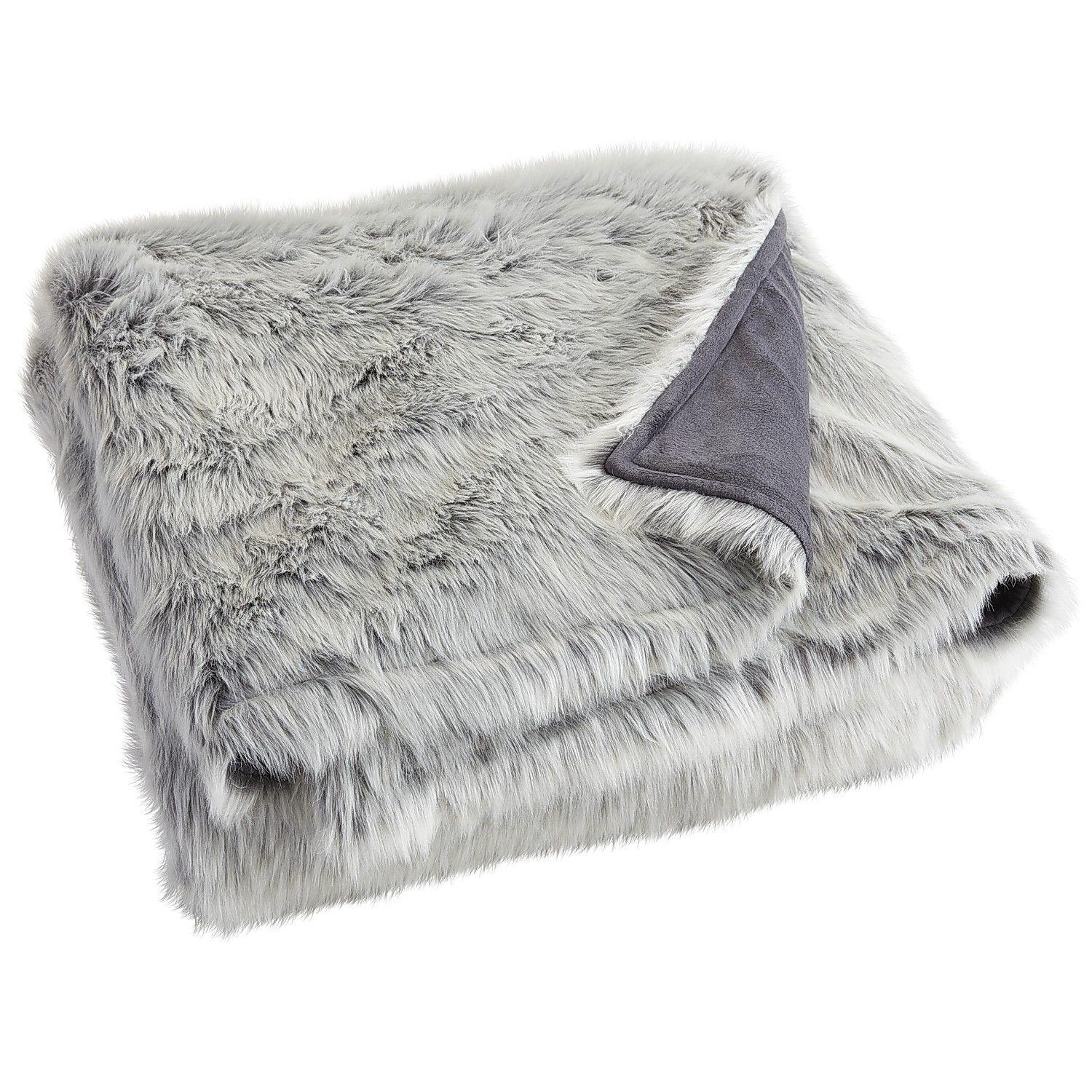 Home Decor Stores In Nyc Gray Ombre Faux Fur Blanket Amp Shams From Pier 1 Imports