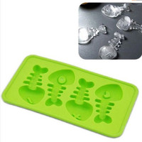 Fish Bones Ice Molds