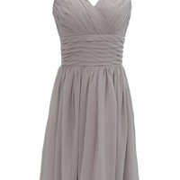 Dressystar Short Cheap V-neck Bridesmaid Dresses