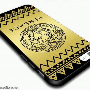 buy popular eacbb a40f1 Aztec Versace Goldeen Design Case Cover For iPhone 6 / iPhone 6 Plus