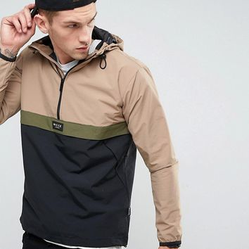 Nicce London Overhead Jacket With Hood at asos.com