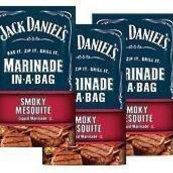 Jack Daniel's, EZ Marinader, Smoky Mesquite, 12oz Bag (Pack of 3)