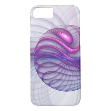 Beautiful Movements Abstract Fractal Art Pink iPhone 7 Case