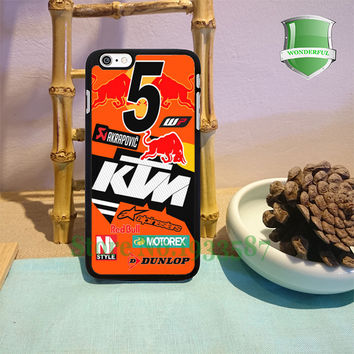 KTM Ryan Dungey 450 SX-F Factory Edition Supercross Fashion Cell Phone Cases For Iphone 6s 6sPlus 6 6Plus 5 5s 5c 4 4s T*1390