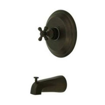 CREYON elements of design eb2635bxto new york oil rubbed bronze pressure balanced tub faucet