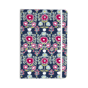"Laura Nicholson ""Turkish Vase"" Navy Magenta Everything Notebook"